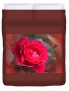Red Rose Of May Duvet Cover