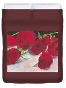 Red Rose Redux Duvet Cover