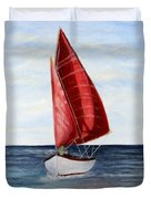 Red Sail Serenity Duvet Cover