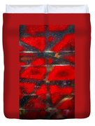 Red Scare Duvet Cover