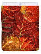 Red Sea Grapes By Sharon Cummings Duvet Cover