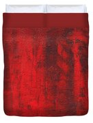 Red Shadows 2001 Duvet Cover