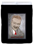 Red Skelton Duvet Cover
