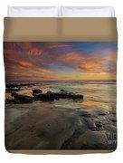 Red Sky California Duvet Cover