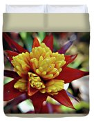 Red Spikes 1 Duvet Cover