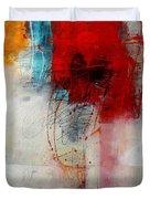 Red Splash 1 Duvet Cover