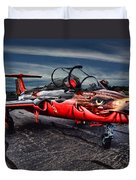 Red Star Viper Russian Side Duvet Cover