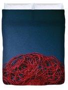 Red String Duvet Cover