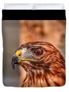 Red Tail Duvet Cover