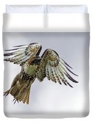 Red Tail Takeoff Duvet Cover