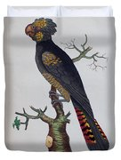 Red-tailed Black Cockatoo 1790 Duvet Cover