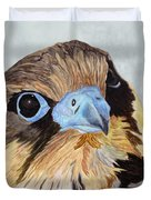 Red-tailed Hawk Portrait Duvet Cover