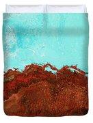 Red Tide Duvet Cover