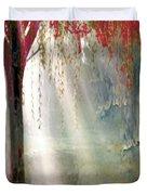 Red Tree 1  Duvet Cover