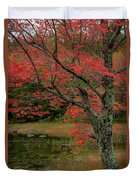 Red Tree II Duvet Cover by Gary Lengyel