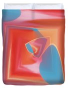 Red Tubes 3 Duvet Cover