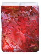 Red Velvet Duvet Cover
