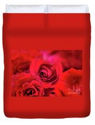 Red Velvet Duvet Cover