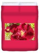 Red Velvet Roses Duvet Cover