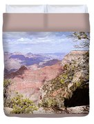 Red Wall - Grand Canyon Duvet Cover
