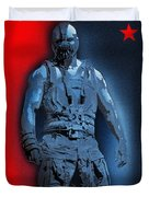 Red White And Bane Duvet Cover