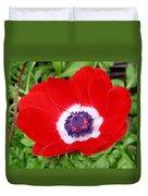 Red White N Blue Duvet Cover