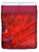 Red Wind Duvet Cover