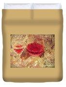 Red Wine 3 Duvet Cover
