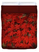 Red With Envy Duvet Cover
