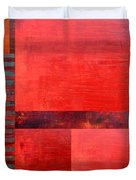 Red With Orange 2.0 Duvet Cover