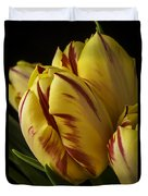 Red Yellow Tulip Duvet Cover