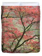 Red Zen Duvet Cover