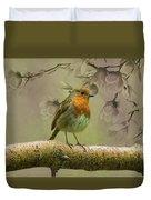 Redbreast Bird Duvet Cover