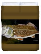 Redfish Study  Duvet Cover