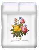Redoute: Roses, 1833 Duvet Cover