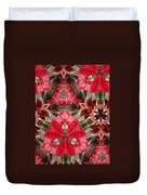 Reds Of Nature Duvet Cover