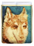 Red's Wolf Duvet Cover