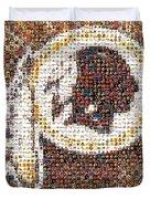 Redskins Mosaic Duvet Cover