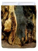 Redwood Abstract Duvet Cover