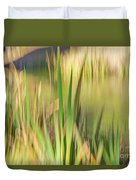 Reed Abstract II Duvet Cover