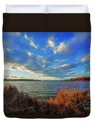 Reeds And Wind Duvet Cover