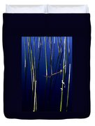 Reeds Of Reflection Duvet Cover