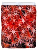 Reef Art - Octocoral Duvet Cover