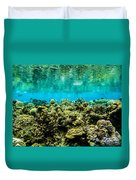 Reef At Ahnd Atoll Duvet Cover