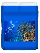 Reef Dive Duvet Cover