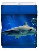 Reef Shark Duvet Cover