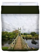 Reeth Swing Bridge Duvet Cover