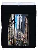 Reflected City Duvet Cover