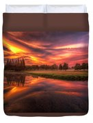 Reflected Reality Duvet Cover