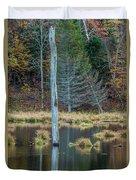 Reflected Tree Duvet Cover